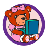 Teddy Bear icon, teddy bear with box