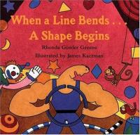 When a Line Bends...A Shape Begins
